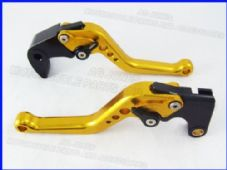 Honda CBR600RR (07-16), CNC levers short gold/ adjusters, F33/Y688